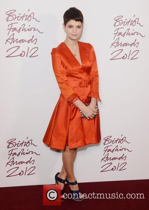 Pixie Geldof, British Fashion Awards, The Savoy, London and England 1