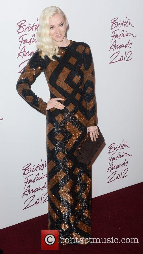 Portia Freeman at the British Fashion Awards at...