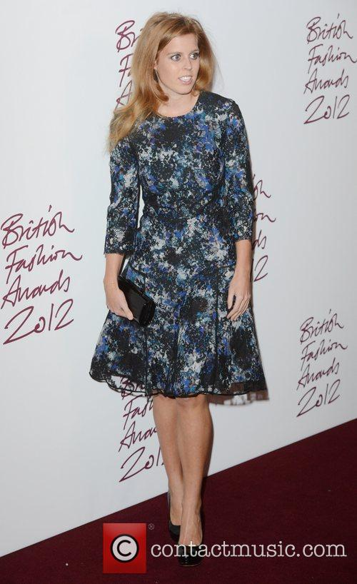 Princess Beatrice, British Fashion Awards, The Savoy, London and England 3