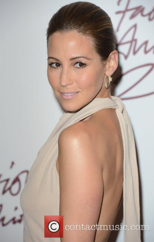 Rachel Stevens, British Fashion Awards, The Savoy, London and England 4