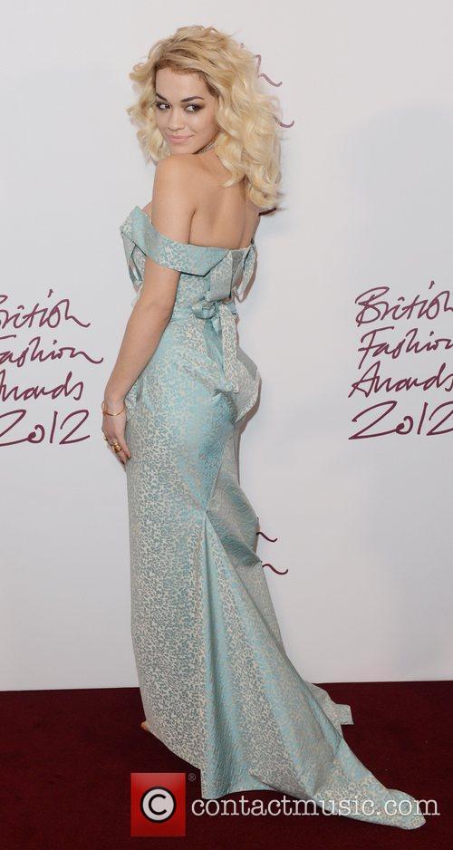 Rita Ora, British Fashion Awards, The Savoy, London and England 4