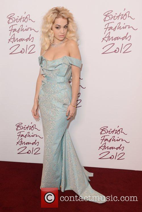 Rita Ora, British Fashion Awards, The Savoy, London and England 3
