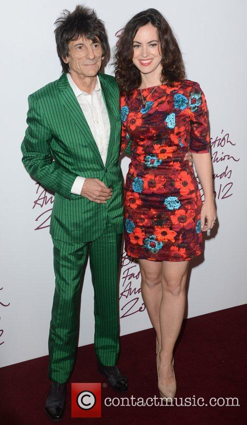 Ronnie Wood, British Fashion Awards, The Savoy, London and England 1