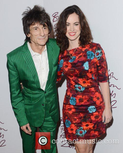 ronnie wood at the british fashion awards 5958140
