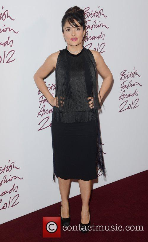 Salma Hayek, British Fashion Awards, The Savoy, London and England 9
