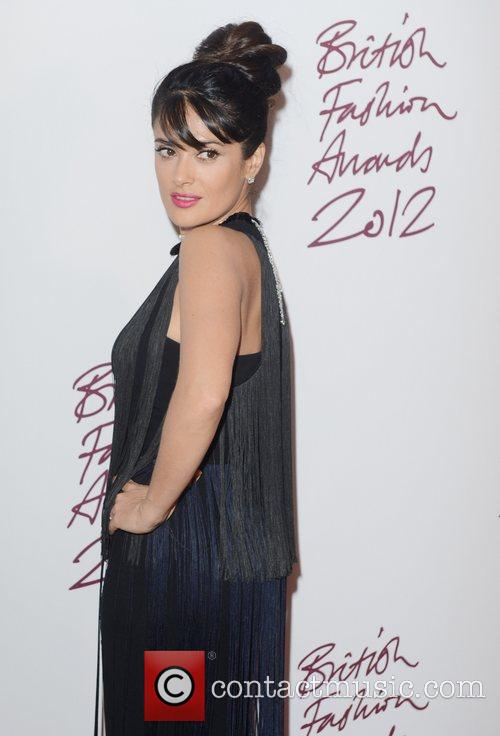 Salma Hayek, British Fashion Awards, The Savoy, London and England 3