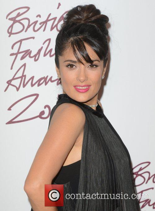 Salma Hayek, British Fashion Awards, The Savoy, London and England 11