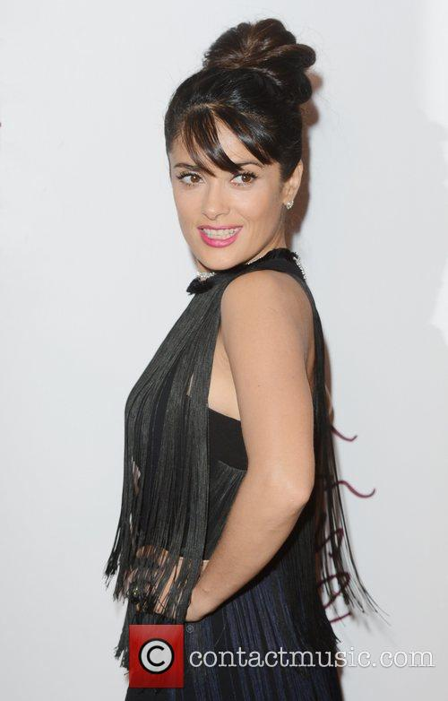 Salma Hayek, British Fashion Awards, The Savoy, London and England 4