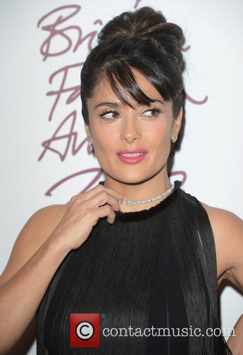 Salma Hayek, British Fashion Awards, The Savoy, London and England 5