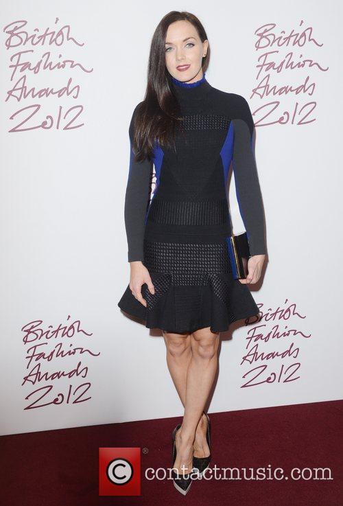 Victoria Pendleton at the British Fashion Awards at...