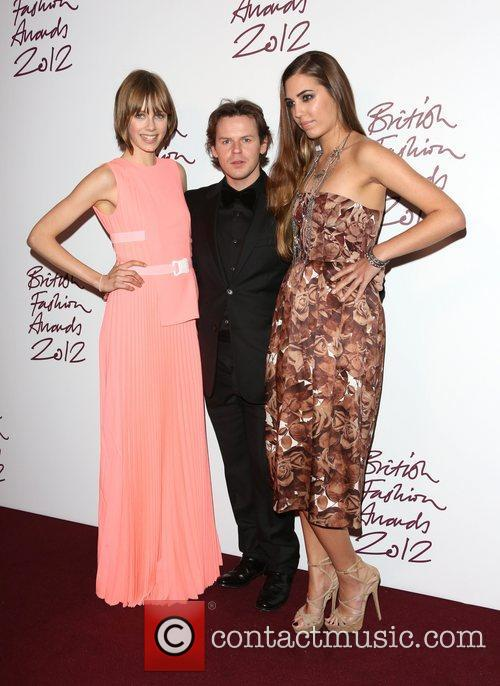 Edie Campbell, Christopher Kane and Amber Le Bon...