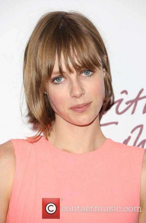 Edie Campbell The British Fashion Awards 2012 held...