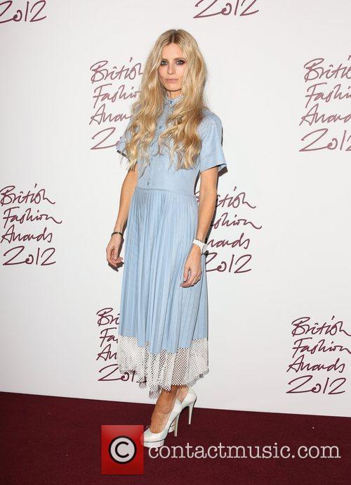 Laura Bailey The British Fashion Awards 2012 held...