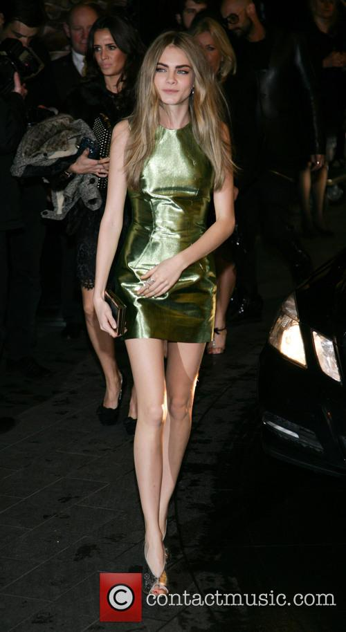 Cara Delevingne, Savoy and British Fashion Award London 6