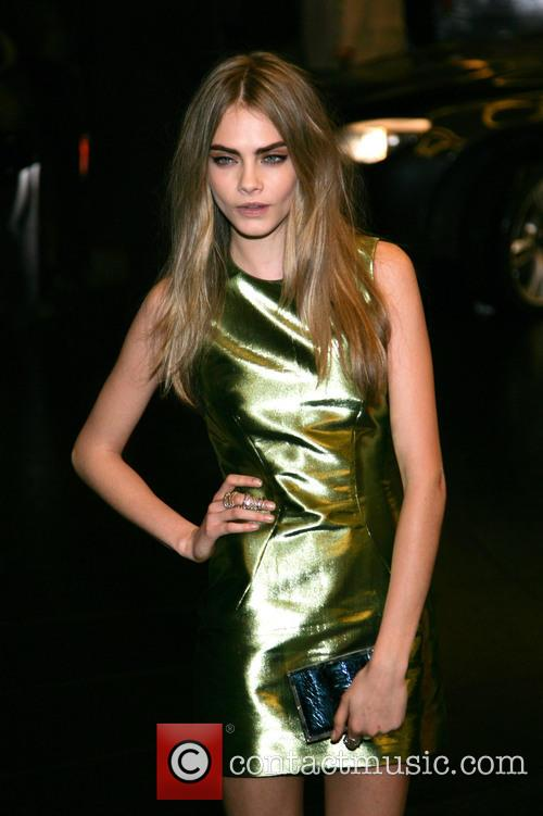 Cara Delevingne, Savoy and British Fashion Award London 8