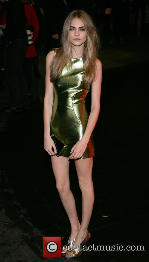 Cara Delevingne, Savoy and British Fashion Award London 9
