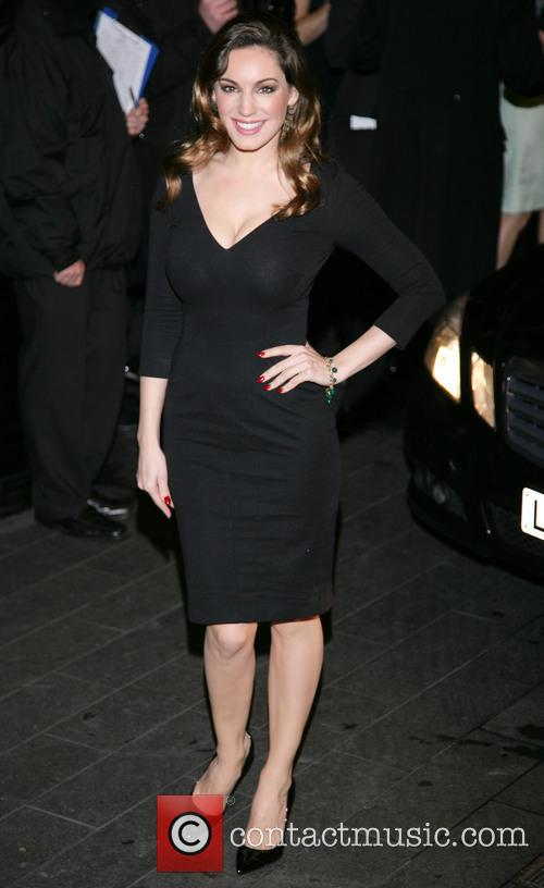 Kelly Brook, Savoy and British Fashion Award London 4