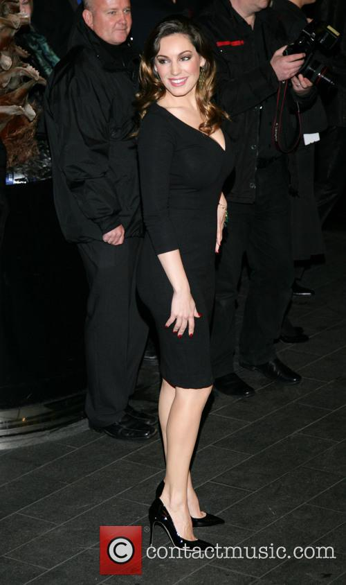 Kelly Brook, Savoy and British Fashion Award London 5