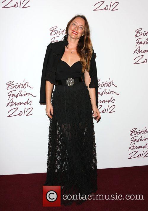 Alice Temperley The British Fashion Awards 2012 held...