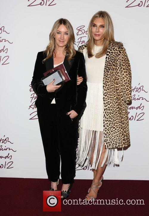 Anya Hindmarch, Kim Hersov and The British Fashion Awards 1