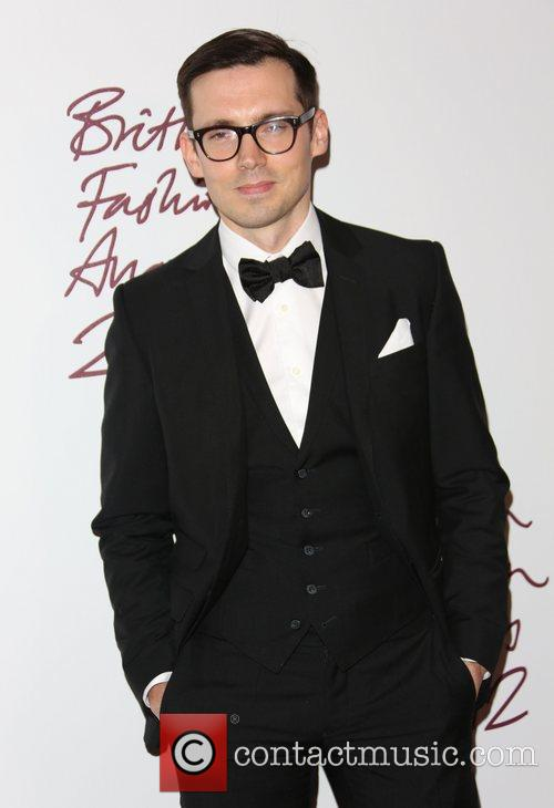 Erdem Moralioglu The British Fashion Awards 2012 held...