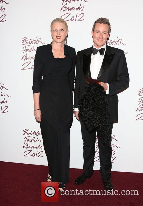 Guests The British Fashion Awards 2012 held at...