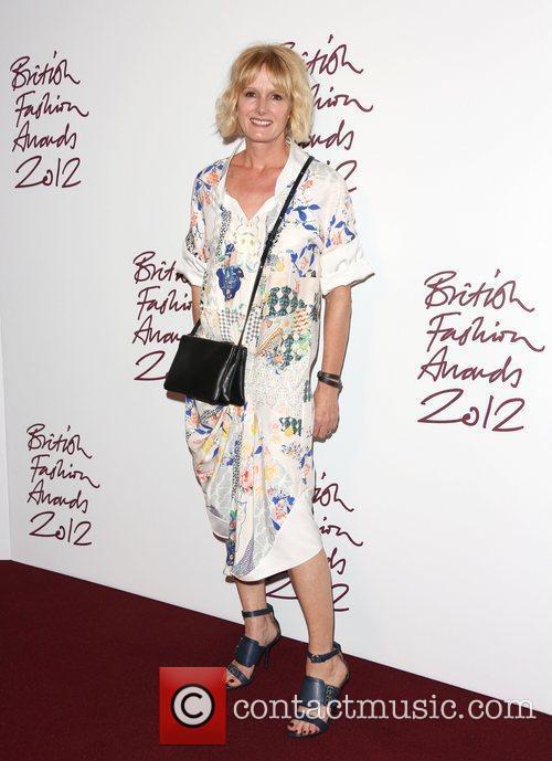 Jane Shepherdson The British Fashion Awards 2012 held...
