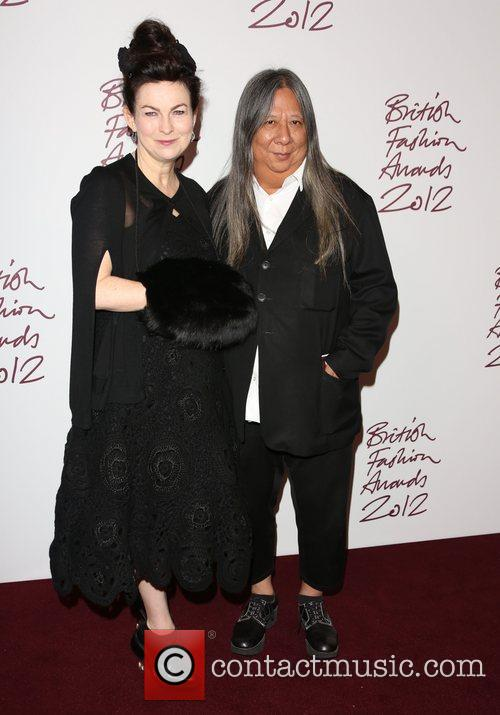 John Rocha and wife Odette The British Fashion...