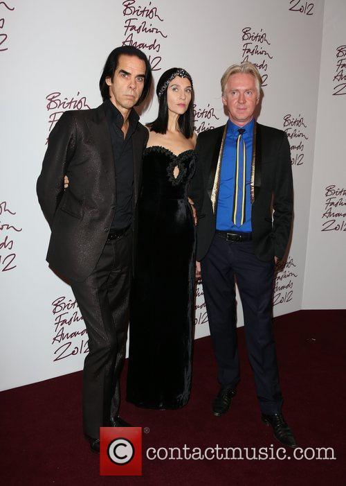 Nick Cave, Susie Bick, Philip Treacy, The British Fashion Awards
