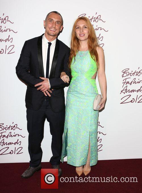 Richard Niccol and Josephine De La Baume The...