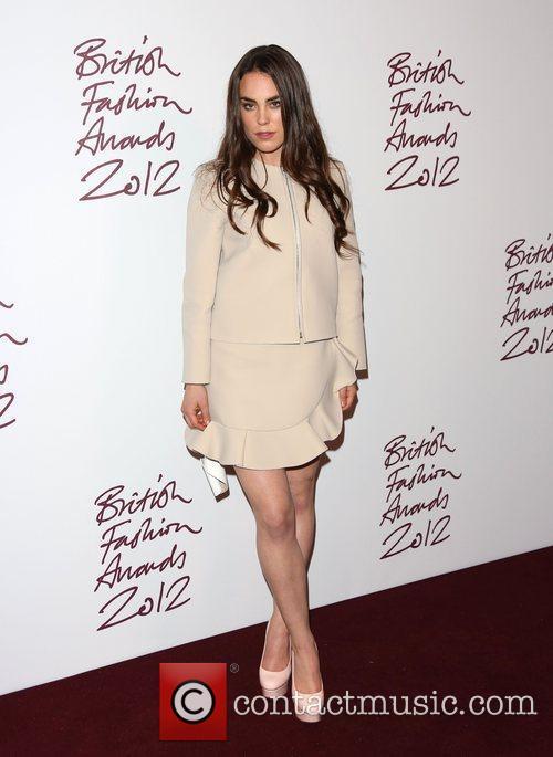 Tallulah Harlech The British Fashion Awards 2012 held...