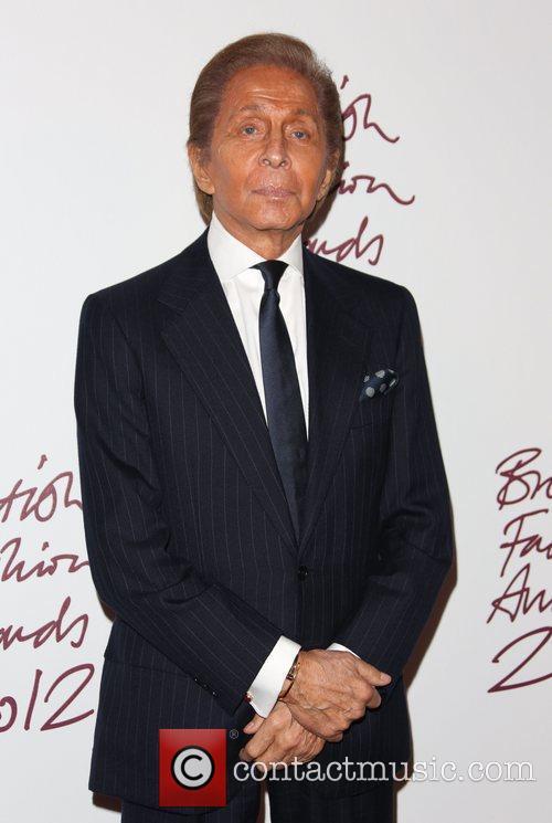 Valentino The British Fashion Awards 2012 held at...