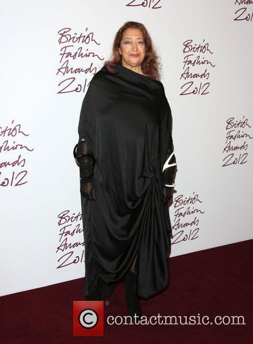 Zaha Hadid The British Fashion Awards 2012 Held At The