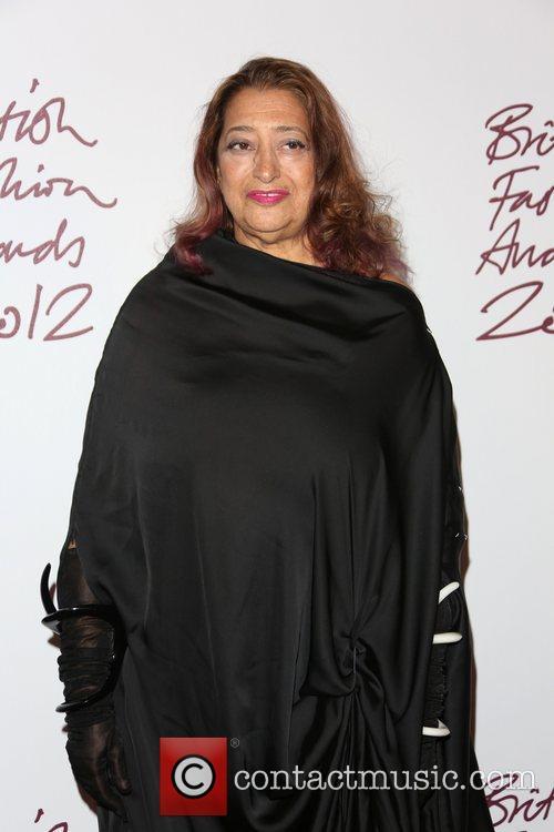 Zaha Hadid The British Fashion Awards 2012 held...