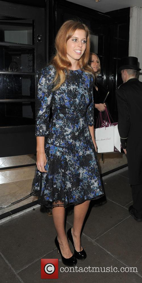 The British Fashion Awards, The Savoy and Departures 7