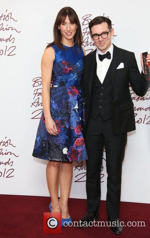 Samantha Cameron and Erdem Moralioglu 2