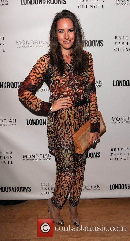 Louise Roe The British Fashion Council Cocktail Party...