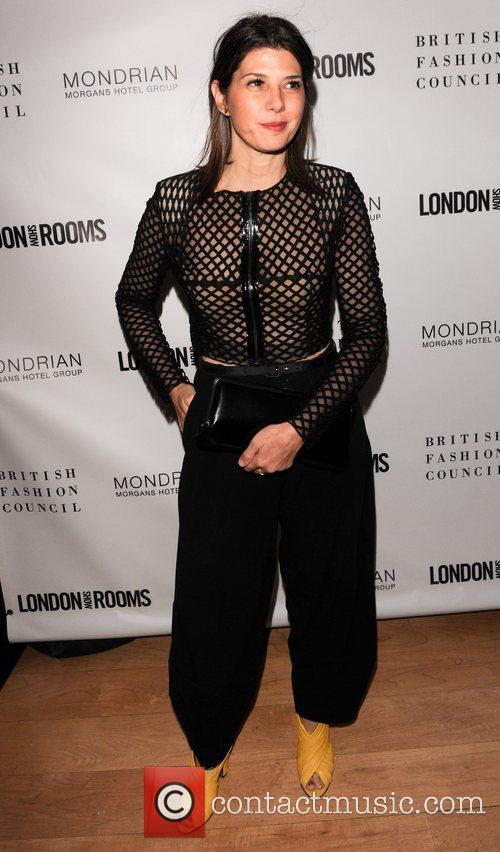 marisa tomei the british fashion council cocktail 4143433
