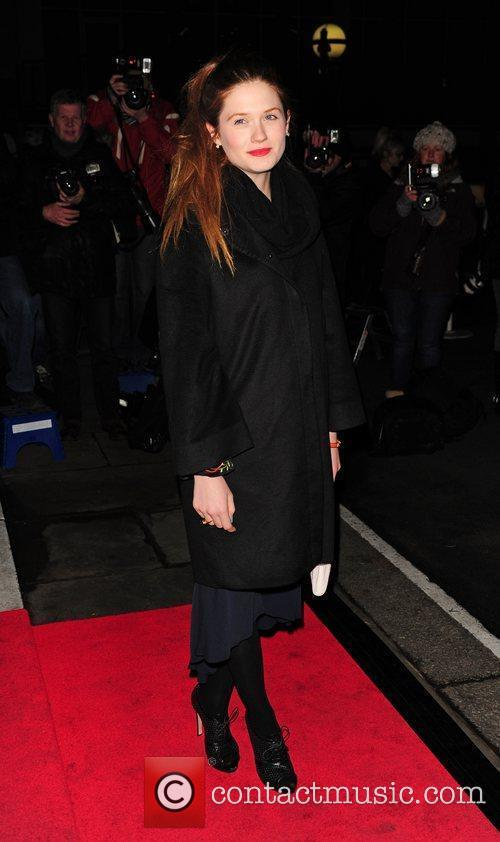 Bonnie Wright Evening Standard British Film Awards 2012...