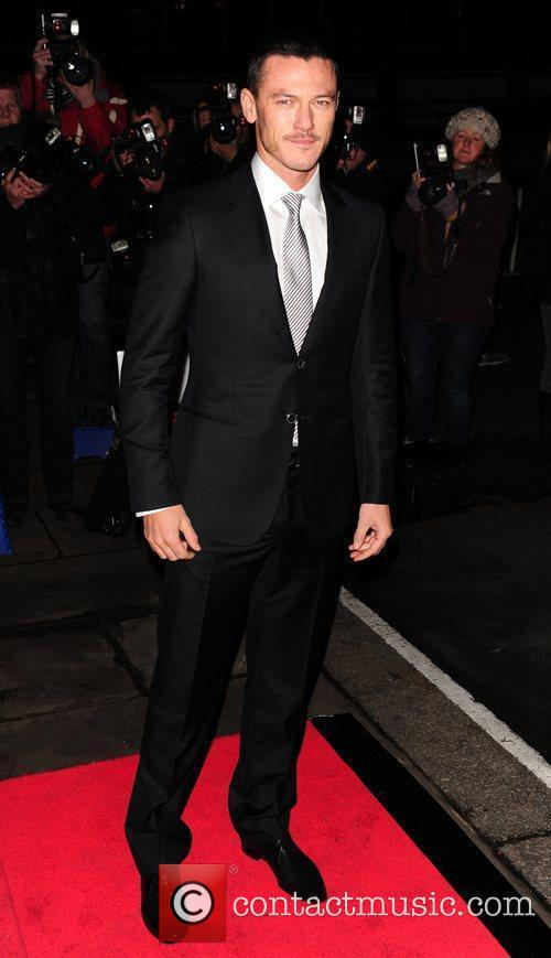 Luke Evans Evening Standard British Film Awards 2012...