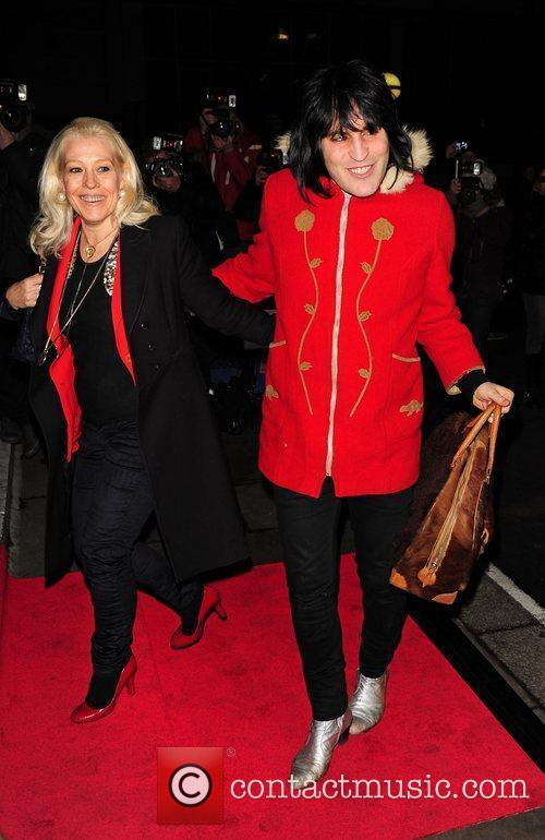 Noel Fielding Evening Standard British Film Awards 2012...