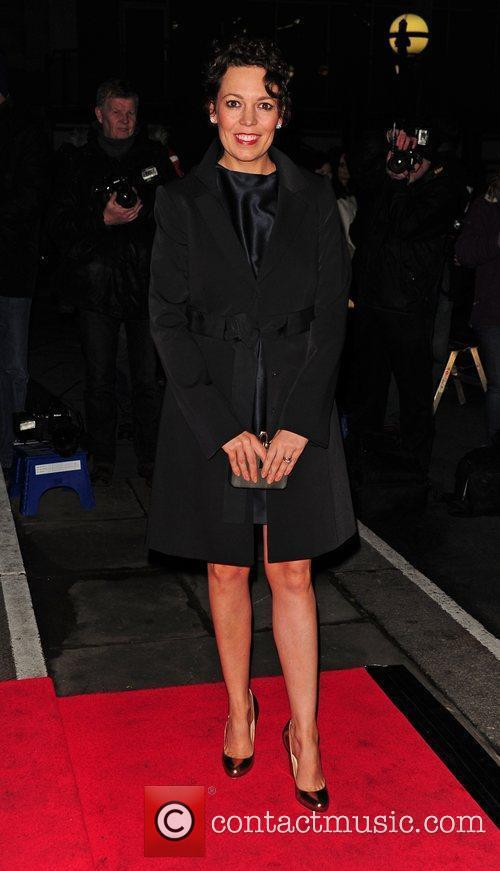 Olivia Coleman Evening Standard British Film Awards 2012...
