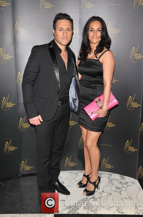 Antony Costa and guest The British Inspiration Awards...