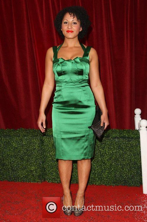 Alicya Eyo The British Soap Awards 2012 held...