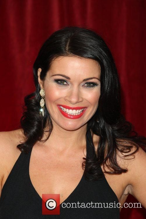 Alison King The British Soap Awards 2012 held...