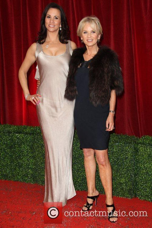 Andrea McLean and Lisa Maxwell The British Soap...
