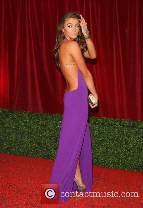 brooke vincent the british soap awards 2012 3852294