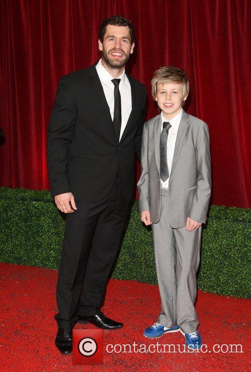 Kelvin Fletcher and guest The British Soap Awards...