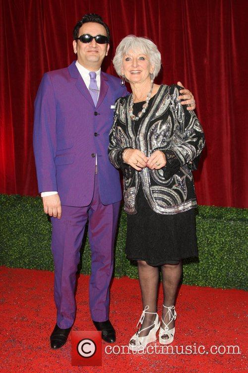Polly Perkins and guest The British Soap Awards...
