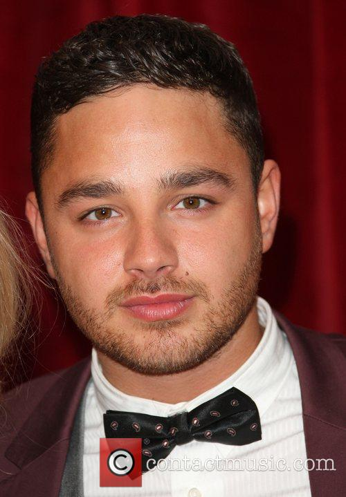 Adam Thomas The British Soap Awards 2012 held...